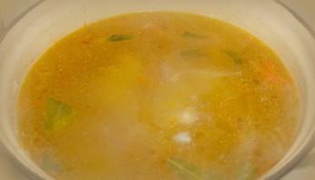 Диетический суп из куриных грудок - фото шаг 6