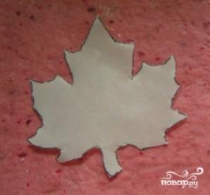 Домашнее печенье в форме кленовых листьев - фото шаг 3