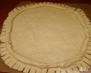 Дрожжевой пирог с творогом - фото шаг 5