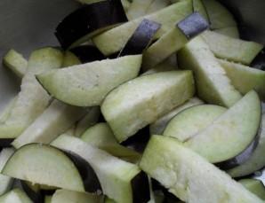 Мясо под овощами в духовке - фото шаг 3