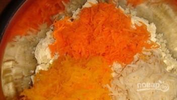 Котлеты из тыквы с картофелем - фото шаг 2