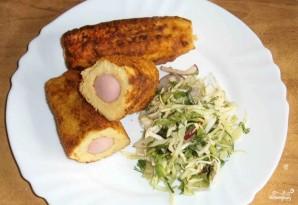 Сосиски в картофельном тесте - фото шаг 7