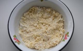 Салат из быстрорастворимой лапши - фото шаг 2