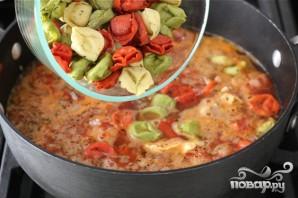 Суп с тортеллини - фото шаг 3