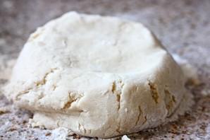 Персиковый пирог из песочного теста - фото шаг 5