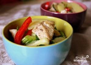Салат с картофелем и курицей - фото шаг 9