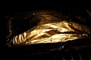 Курица на шпажках в духовке   - фото шаг 8