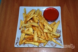 Картошка фри во фритюрнице - фото шаг 4
