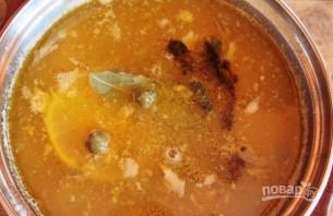 Рыбный суп из сайры - фото шаг 6