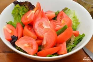 Салат с фисташками - фото шаг 6