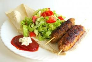 Люля-кебаб на сковороде - фото шаг 6