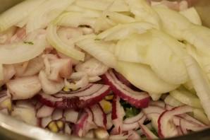 Шашлык из корейки баранины - фото шаг 2