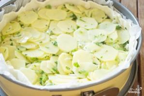 Закрытый пирог с картошкой - фото шаг 3