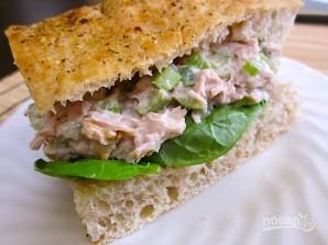Салат из консервы тунца - фото шаг 5