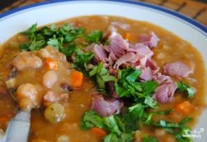 Гороховый суп из свиной рульки - фото шаг 10