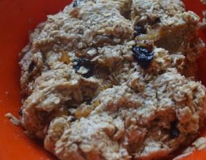 Овсяное печенье на кефире - фото шаг 4