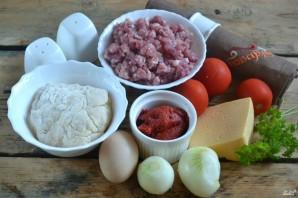 Каннеллони с фаршем под томатным соусом - фото шаг 1
