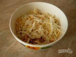 Салат с икрой трески - фото шаг 2