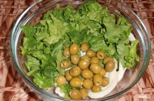 Новогодний салат из кальмаров - фото шаг 2