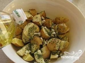 Картофель в рукаве в духовке - фото шаг 6
