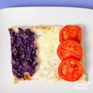 Пицца в виде флагов - фото шаг 9