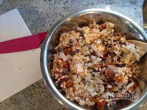 Печенье из фруктов, орехов и семечек - фото шаг 5