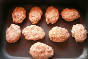Котлеты из индейки в духовке - фото шаг 3
