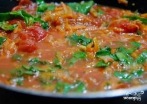 Томатный суп с мидиями - фото шаг 6