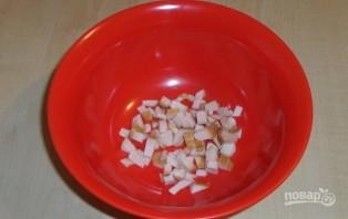 Салат с кукурузой и солеными грибами - фото шаг 1