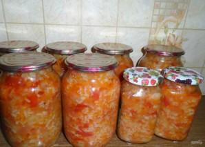 Салат с рисом на зиму - фото шаг 5