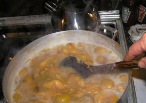 Соус ткемали из желтой сливы на зиму - фото шаг 1