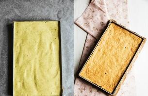 Клубнично-фисташковый торт - фото шаг 4