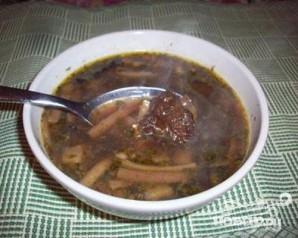 Суп из сушеных белых грибов - фото шаг 5