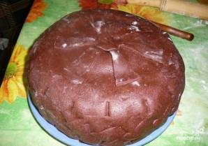 """Торт """"Колесо от машины"""" - фото шаг 6"""