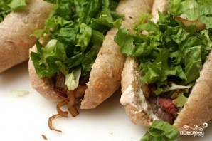 Сэндвичи со стейком - фото шаг 3