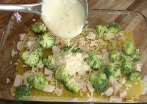 Лазанья с брокколи - фото шаг 8