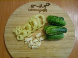 Закатка овощного ассорти - фото шаг 2