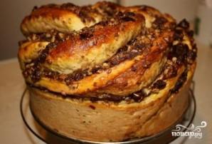 Пирог с финиками - фото шаг 9