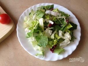 Салат с тунцом и сметанной заправкой - фото шаг 5