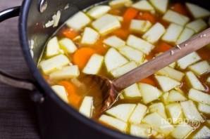 Суп-пюре с яблоками и морковью - фото шаг 4