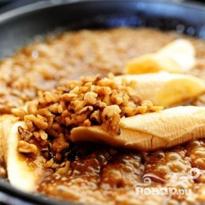 Жареные бананы с ромом и орехами - фото шаг 3