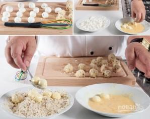 Сырные шарики в панировке - фото шаг 3