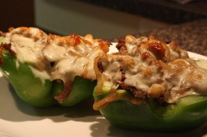 Перец, фаршированный мясом и грибами - фото шаг 10