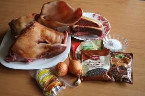 Домашняя колбаса из свиной головы - фото шаг 1