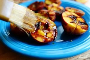 Персики на гриле - фото шаг 6