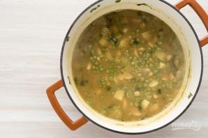 Суп-пюре из горошка и нута - фото шаг 7