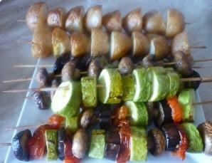 Гарнир к мясу в духовке - фото шаг 6