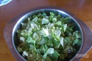 Салат из креветок с авокадо - фото шаг 3