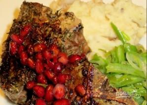 Мясо под гранатовым соусом - фото шаг 4