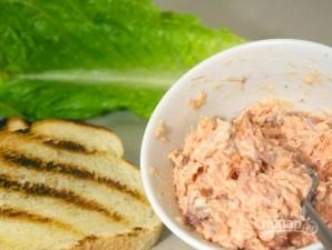 Сэндвич с лососем - фото шаг 2